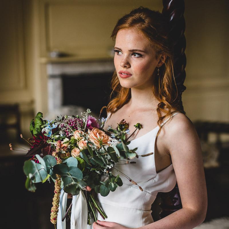 Bridal Shoot at Crowcombe Court